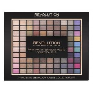 Buy Makeup Revolution 144 Ultimate Eyeshadow Palette Collection 2017 - Nykaa