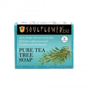 Buy Soulflower Pure Tea Tree Soap - Nykaa