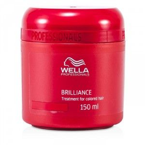 Buy Wella Professionals Brilliance Treatment For Colored Hair - Nykaa