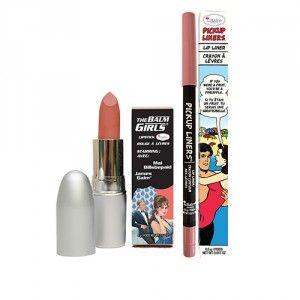 Buy theBalm Pickup Liners Lip Liner - Fineapple + Girls Lipstick - Mai Billsbepaid - Nykaa