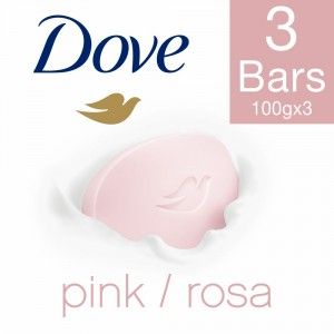 Buy Dove Pink Rosa Beauty Bathing Bar - Pack Of 3 (Rs. 10 Off) - Nykaa