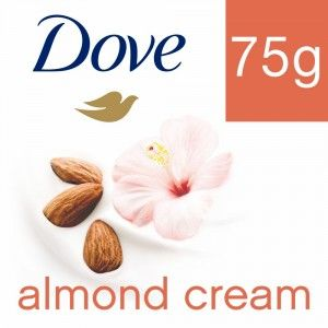 Buy Dove Almond Cream Beauty Bathing Bar - Nykaa