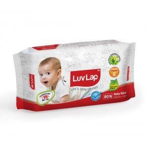 Buy LuvLap Paraben Free Baby Wet Wipes - Nykaa