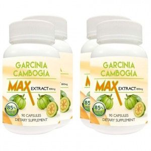 Buy Nutravigour Garcinia Cambogia Max Extract 85% Hydroxycitric Acid (Hca) Veg 4x90 Capsules Weight Loss 800 Mg - Value Pack Of 4 - Nykaa