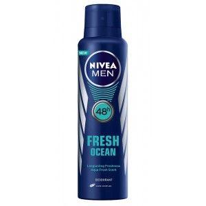 Buy Nivea Men Fresh Ocean Deodorant - Nykaa