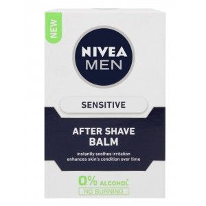 Buy Nivea For Men Sensitive After Shave Balm  - Nykaa