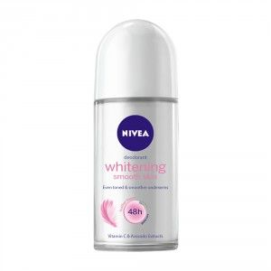 Buy Nivea Whitening Smooth Skin Deodorant Roll On - Nykaa