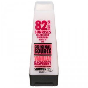 Buy Original Source Vanilla & Raspberry Shower Gel - Nykaa