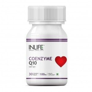 Buy INLIFE Coenzyme Q10, 100mg 30 Chewable Tabs Fertility Supplement For Male Female - Nykaa