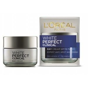 Buy L'Oreal Paris White Perfect Clinical Day Cream 19 PA+++ - Nykaa