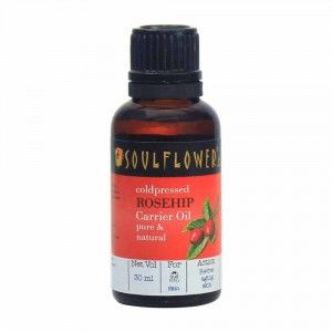 Buy Soulflower Coldpressed Rosehip Carrier Oil - Nykaa