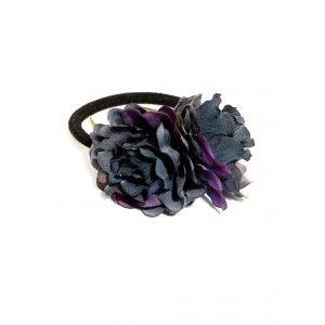 Buy Toniq Navy Floral Rubber Band - Nykaa