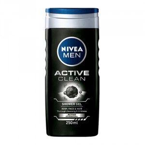 Buy Nivea Men Active Clean Shower Gel - Nykaa