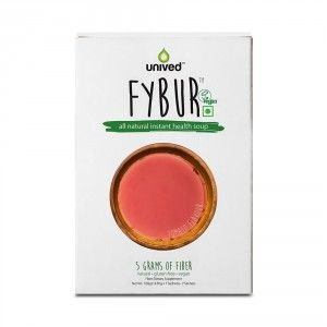 Buy Unived Fybur, Instant Health Soup,  5g Hi-Fiber -7 Sachets - Nykaa