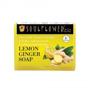 Buy Soulflower Lemon Ginger Soap - Nykaa