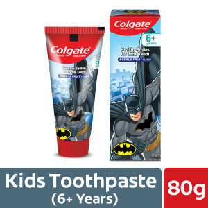 Buy Colgate Healthy Smiles For Little Teeth Bubble Fruit Flavor (6+ Year) Toothpaste For Kids - Nykaa