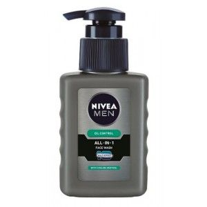 Buy Nivea Men Oil Control All In One Face Wash Pump - Nykaa