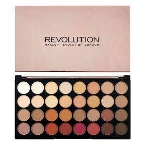 Buy Makeup Revolution Ultra 32 Eyeshadow Palette Flawless 3 Resurrection - Nykaa