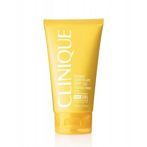 Buy Clinique Broad Spectrum SPF 50 Sunscreen Body Cream - Nykaa