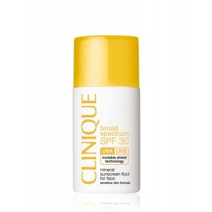 Buy Clinique SPF 30 Mineral Sunscreen Fluid For Face - Nykaa