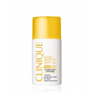 Buy Clinique SPF 50 Mineral Sunscreen Fluid For Face - Nykaa