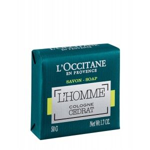 Buy L'Occitane L'Homme Cologne Cedrat Soap - Nykaa