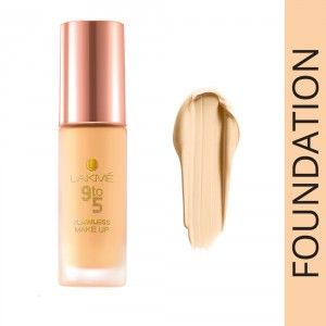 Buy Lakme 9 To 5 Flawless Matte Complexion Foundation - Nykaa