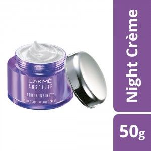 Buy Lakme Absolute Youth Infinity Skin Sculpting Night Creme - Nykaa