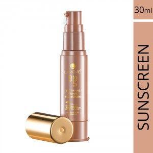 Buy Lakme 9 To 5 Mattifying Super Sunscreen SPF 50 - Nykaa