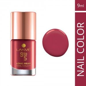 Buy Lakme 9 To 5 Long Wear Nail Color - Nykaa