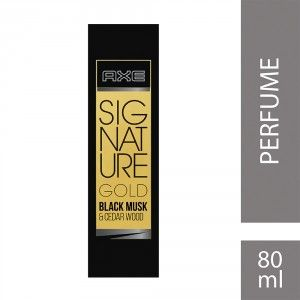 Buy Axe Signature Gold Black Musk & Cedar Wood Perfume  - Nykaa