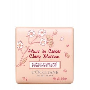 Buy L'Occitane Cherry Blossom Perfumed Soap - Nykaa