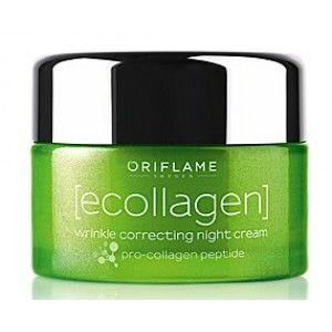 Buy Oriflame Ecollagen Wrinkle Correcting Night Cream - Nykaa