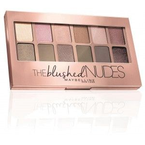 Buy Maybelline New York The Blushed Nudes Palette - Nykaa