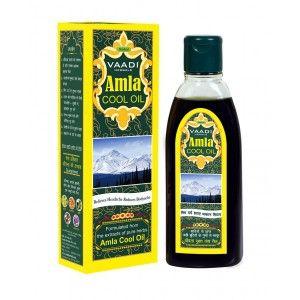 Buy Vaadi Herbals Amla Cool Oil With Brahmi & Amla Extract - Nykaa