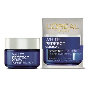 Buy L'Oreal Paris White Perfect Clinical Overnight Treatment Cream - Nykaa
