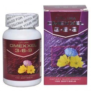 Buy ExxelUSA Omexxel Omega 3 - 6 - 9 Softgel Capsules 900 Mg - Nykaa