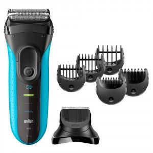 Buy Braun Series 3 Shave & Style 3010BT 3-in-1 Electric Wet & Dry Shaver - Nykaa