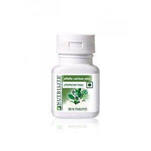 Buy Amway Nutrilite Alfalfa Calcium Plus - 90 Tablets - Nykaa