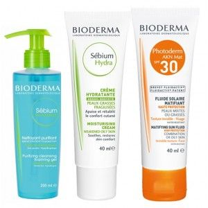 Buy Bioderma Adult And Late Acne Kit - Nykaa