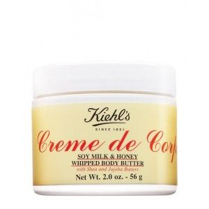 Buy Kiehl's Creme De Corps Soy Milk & Honey Whipped Body Butter - Nykaa