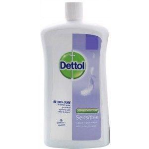 Buy Dettol Liquid Soap Sensitive Jar - Nykaa