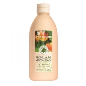Buy Yves Rocher Les Plaisirs Nature Yellow Peach Lait Veloute Silky Lotion - Nykaa
