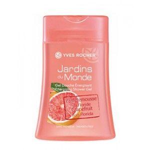 Buy Yves Rocher Jardins Du Monde Grapefruit From Florida Energizing Shower Gel - Nykaa
