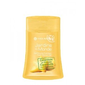 Buy Yves Rocher Jardins Du Monde Fresh Shower Gel Carambola From Malaysia - Nykaa