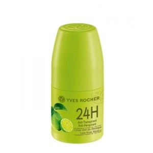 Buy Yves Rocher 24H Anti-Perspirant Lime From Mexico - Nykaa