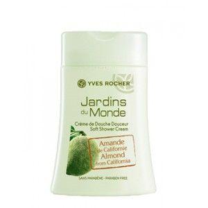 Buy Yves Rocher Jardins Du Monde Soft Shower Cream Almond From California - Nykaa