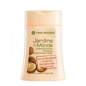 Buy Yves Rocher Jardins Du Monde Velvety Shower Cream Macadamia Nuts From Guatemala - Nykaa