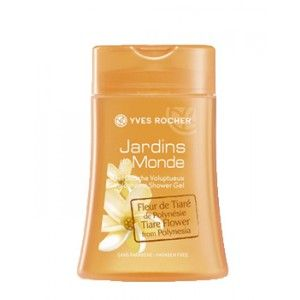 Buy Yves Rocher Jardins Du Monde Voluptuous Shower Gel Tiare Flower From Polynesia - Nykaa