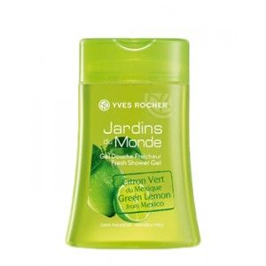 Buy Yves Rocher Jardins Du Monde Fresh Shower Gel Lime From Mexico - Nykaa